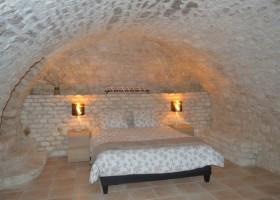 Manoir Hans & Lot in de Tarn-et-Garonne, Frankrijk slaapkamer 2p bed 2020 Manoir Hans & Lot 30pluskids