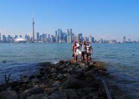 Riksja Family rondreis Canada stad Riksja Family rondreis Canada 30pluskids