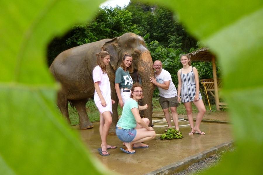 Trvalenauts Thailan - Olifanten safari Travelnauts 30pluskids image gallery