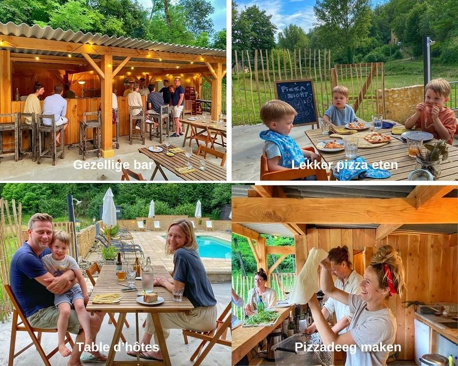 Petite Vallee Coux et Bigaroque, Frankrijk to do op terrein collage