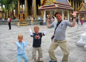 Riksja Family rondreis Thailand Royal Palace 2 Riksja Family Thailand 30pluskids
