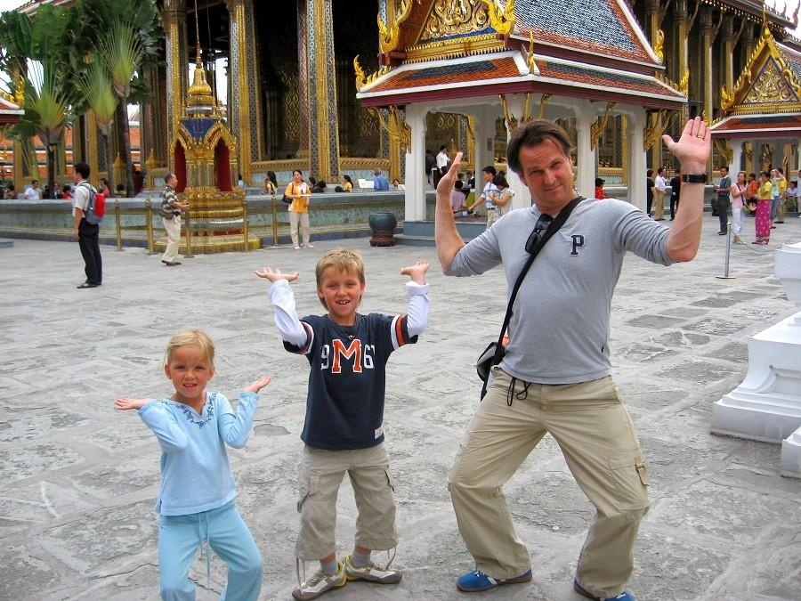 Riksja Family rondreis Thailand Royal Palace 2 Riksja Family Thailand 30pluskids image gallery