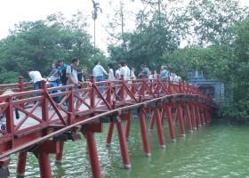 KidsReizen Vietnam Hoan Kiem Lake Hanoi KidsReizen Vietnam 21-daagse rondreis  30pluskids