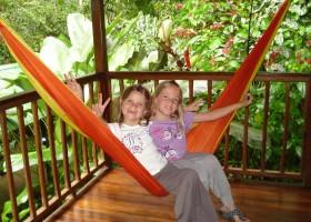 KidsReizen Costa Rica Sarapiqui hangmat KidsReizen 14-daagse rondreis Costa Rica 30pluskids