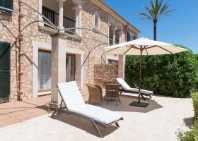 Hotel Migjorn op Mallorca, Spanje terras bij kamer Hotel Migjorn**** 30pluskids