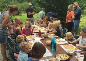Camping La Nozilliere in de Haute Vienne vlakbij de Dordogne, Frankrijk kindertafel Camping La Nozillière  30pluskids