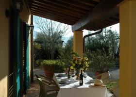 Poggio Montespertoli in Toscane, Italie terras appartement Poggio Montespertoli 30pluskids