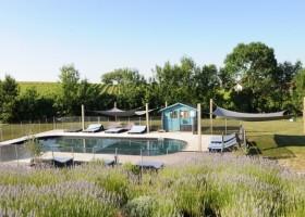 Simply_Canvas in de Lot et Garonne Frankrijk stone B&B en zwembad Simply Canvas 30pluskids