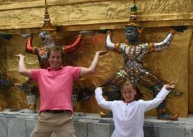 Riksja Family rondreis Thailand Bangkok Royal Palace Riksja Family Thailand 30pluskids
