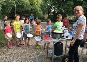 Le Vignal in de Lot-et-Garonne, Frankrijk kinderen Domaine Le Vignal 30pluskids