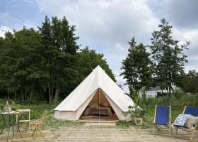 Laguna Beach in Schoorl, Nederland Bell tent met buitenplaats Laguna beach 30pluskids