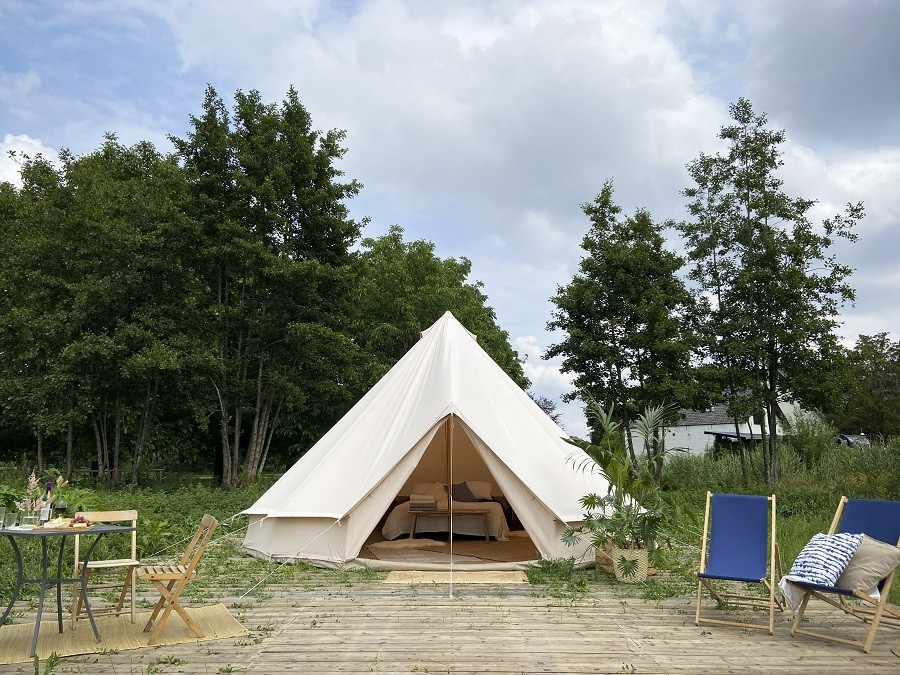 Laguna Beach in Schoorl, Nederland Bell tent met buitenplaats Laguna beach 30pluskids image gallery