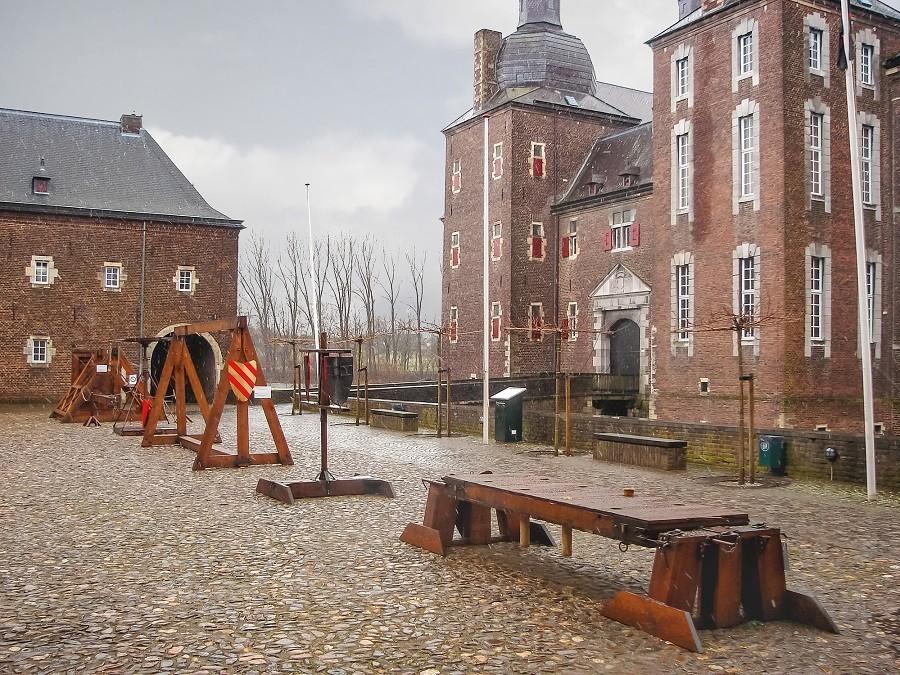 BLOG Kerst in Limburg Kasteel Hoensbroek