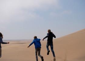 Travelnauts rondreis Namibie gezin Safari, zandduinen, maanlandschappen in Namibië 30pluskids