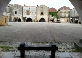 Les Terrasses in de Lot et Garonne, Frankrijk dorpje Les Terrasses 30pluskids