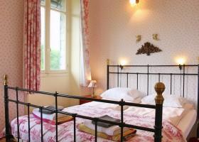 Le Pavillon de St Agnan in de Dordogne, Frankrijk slaapkamer Le Pavillon de St. Agnan 30pluskids