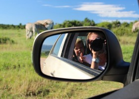 Riksja Family Rondje Kaap gezinsrondreis zebra's spotten Rondje Kaap gezinsreis 30pluskids