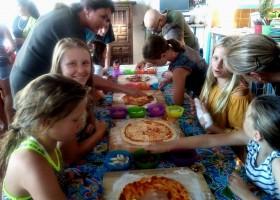 Quinta Laranja pizza maken Quinta Laranja 30pluskids