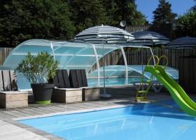 Castelwood in Biron, Frankrijk zwembad 3 Castelwood Vacances 30pluskids