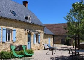 Place de la Famille in de Dordogne, Frankrijk gite Glamping Place de la Famille 30pluskids