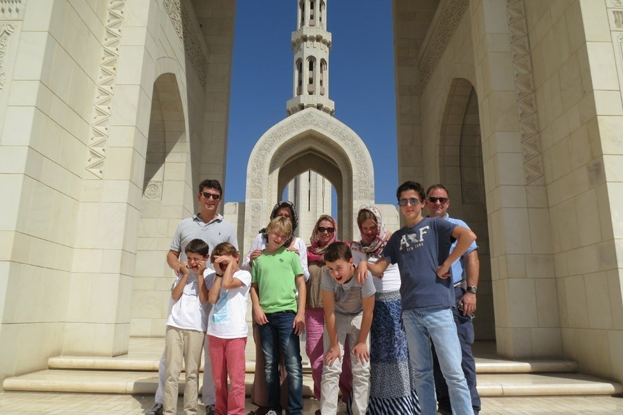 Travelnauts Oman - Sultan Qaboes-moskee Travelnauts 30pluskids image gallery