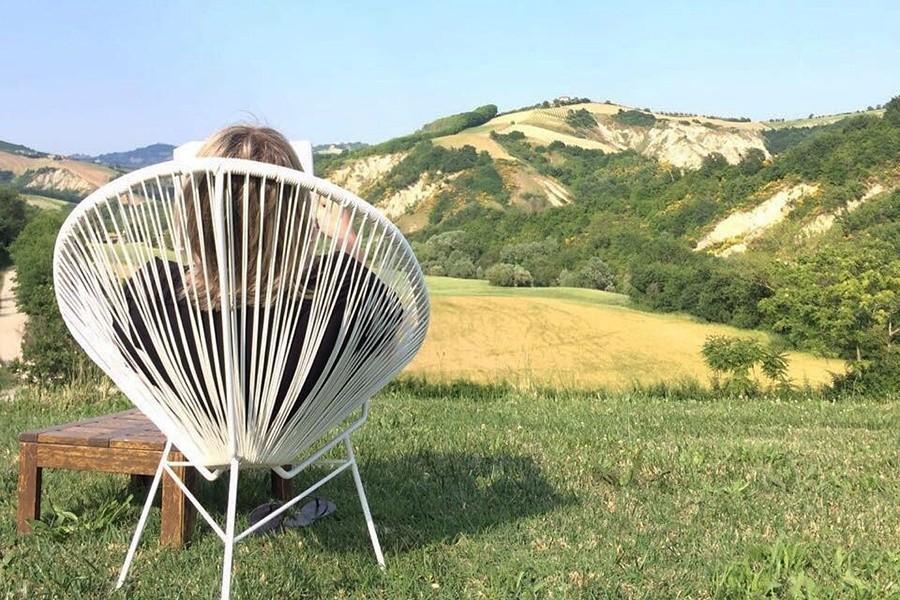 villadellavalle in Le Marche, Italie uitzicht Villa della Valle 30pluskids image gallery