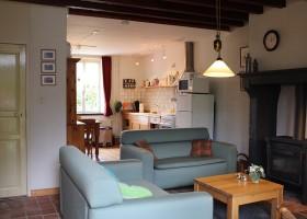 Vakantiehuis Bilok in de Bourgogne, Frankrijk gite hoekhuis binnen Vakantiehuis Bilok 30pluskids