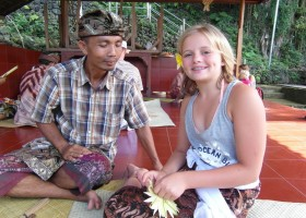 Riksja Family rondreis Bali local Riksja Family Indonesie 30pluskids