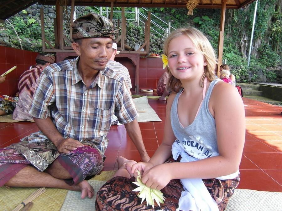 Riksja Family rondreis Bali local Riksja Family Indonesie 30pluskids image gallery