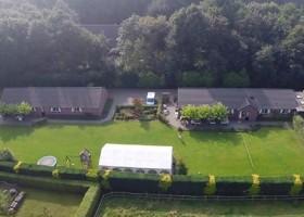 In de Vlinderkes in Arcen, Nederland overzicht terrein In de Vlinderkes 30pluskids