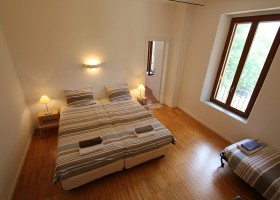 Countryhouse Montesoffio in Le Marche, Italie S2-slaapkamer Country house Montesoffio 30pluskids