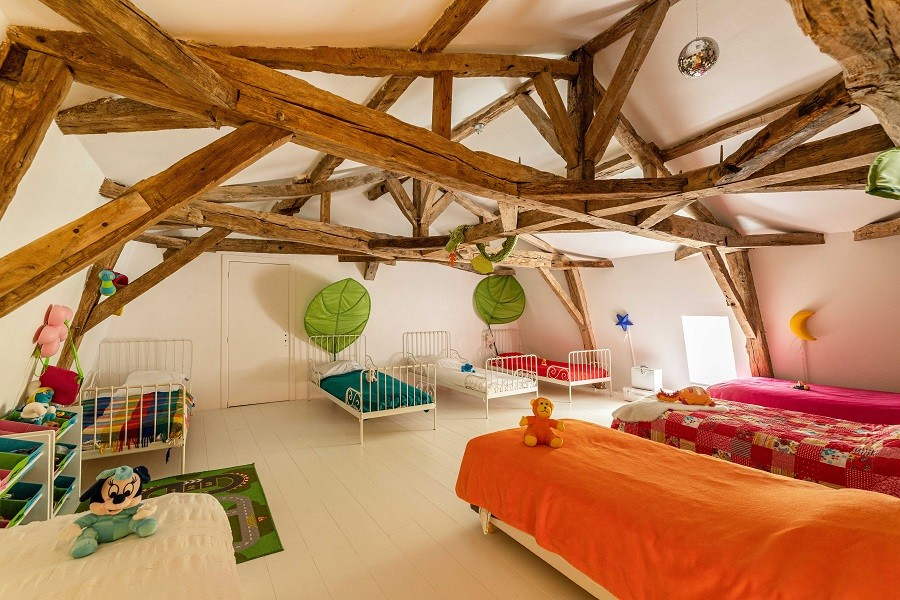 Maisons de Charme in Saint Martin de Gurson, Frankrijk grote kinderkamer Maison de Charme 30pluskids image gallery