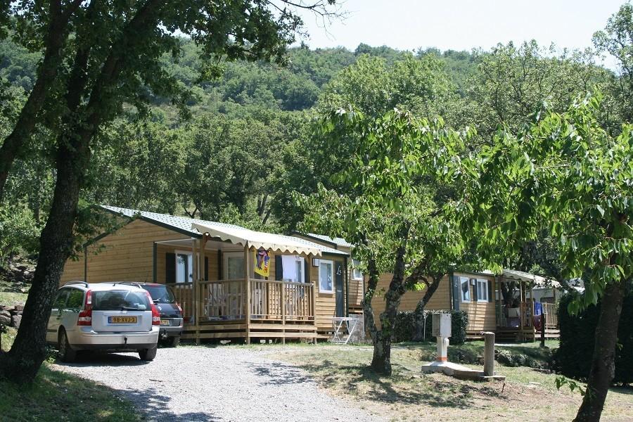 Camping Les Charmilles Ardeche Frankrijk mobilhomes Camping les Charmilles 30pluskids image gallery
