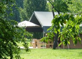 """Domaine Les Gazailles Huis aan de Lot in de Lot-et-Garonne, Frankrijk tent Domaine """"La Gazailles"""" - HUIS aan de LOT 30pluskids"""