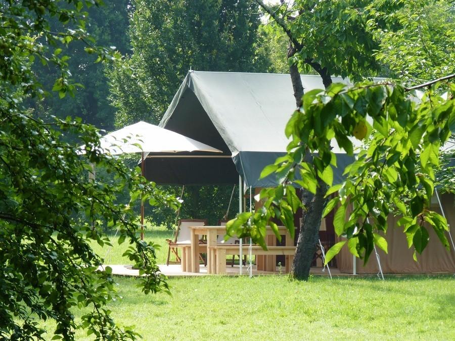 """Domaine Les Gazailles Huis aan de Lot in de Lot-et-Garonne, Frankrijk tent Domaine """"La Gazailles"""" - HUIS aan de LOT 30pluskids image gallery"""