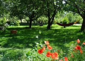 Les Savonniers in de Tarn-et-Garonne, Frankrijk sfeervolle tuin Les Savonniers 30pluskids