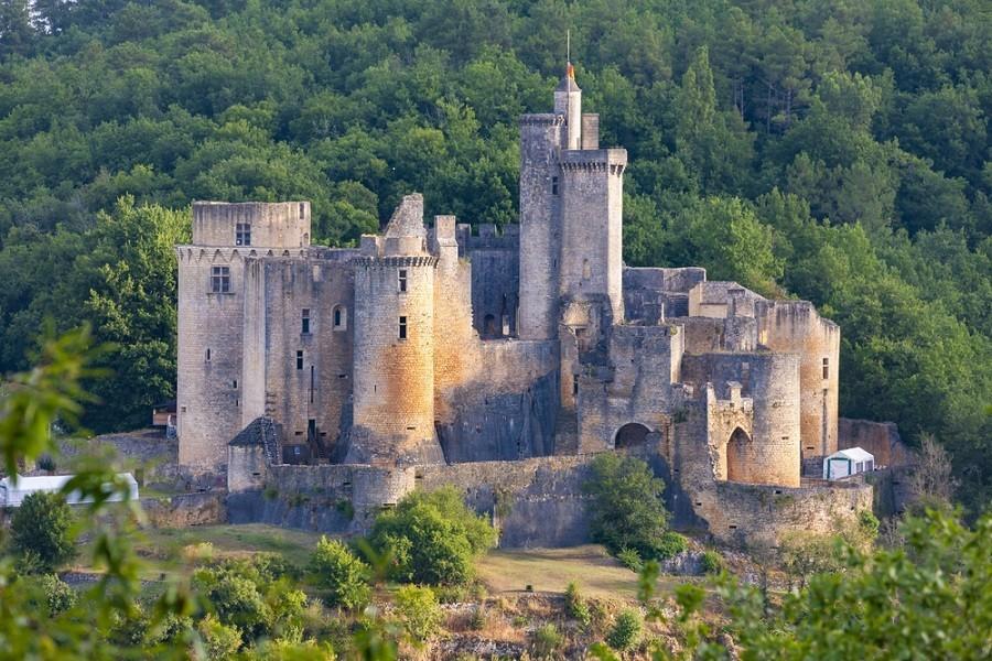 Kasteel van Bonaguil in Frankrijk
