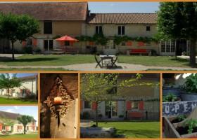 Domaine les Fontaines in de Tourraine, Frankrijk collage Domaine Les Fontaines 30pluskids