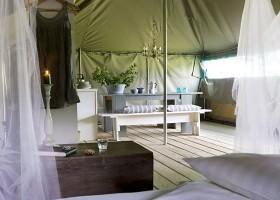 La Parenthese Camping Les Ormes in de Lot-et-Garonne, Frankrijk romatische Kalahari tent La Parenthèse – Camping Les Ormes  30pluskids