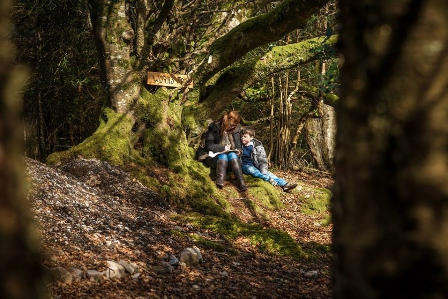 Slieve Aughty Centre Ierland bos Slieve Aughty Centre 30pluskids image gallery