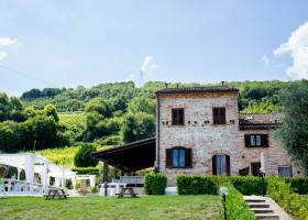 Villa Alwin in Le Marche, Italie huis Villa Alwin 30pluskids