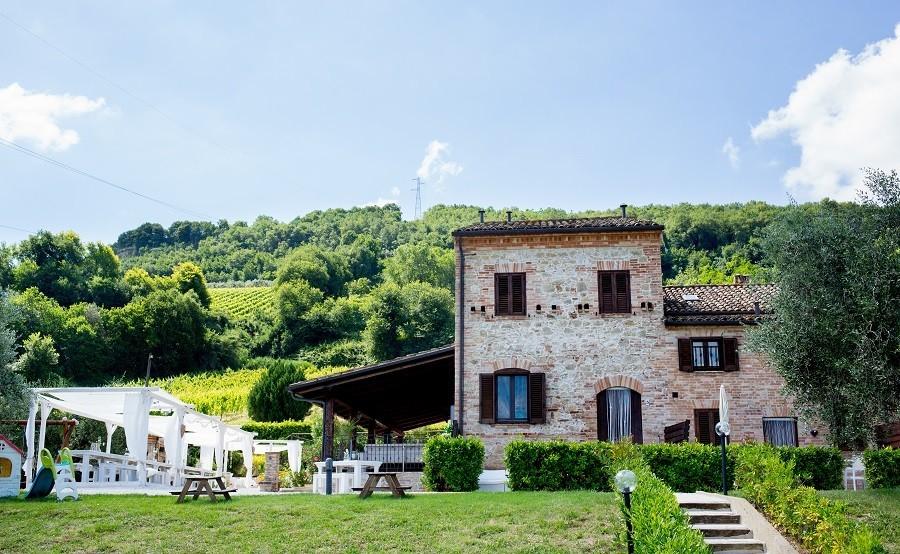 Villa Alwin in Le Marche, Italie huis Villa Alwin 30pluskids image gallery