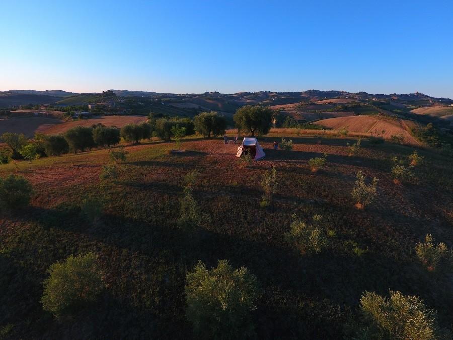 Villa Bussola in Le Marche, Italie overzicht Agriturismo Villa Bussola  30pluskids image gallery