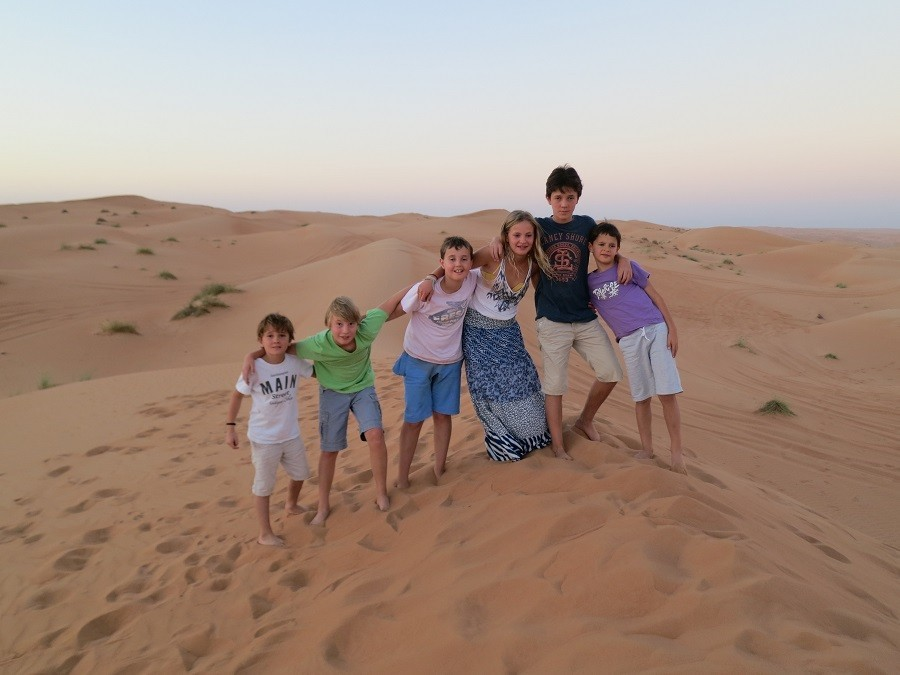 Travelnauts rondreis Oman 05 Kamelen, zandduinen en witte stranden in Oman 30pluskids image gallery