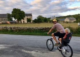 Moulin des Jarasses in de Limousin, Frankrijk lekker fietsen Moulin des Jarasses 30pluskids