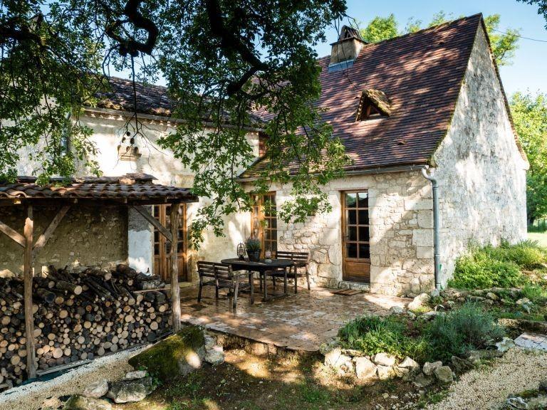 Les Merulies Gite La Fermette in de Dordogne, Frankrijk