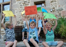 Le Petit Pauliat in de Auvergne, Frankrijk kinderen met pizzabakkersdiploma 8 Le Petit Pauliat 30pluskids