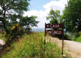 Casa San Carlo bordje langs de weg.jpg Casa San Carlo  30pluskids