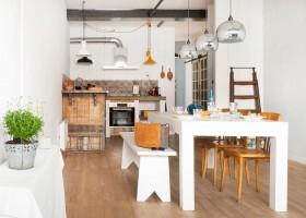 Loft o Village in de Lot et Garonne, Frankrijk keuken LO.F.T Ô VILLAGE 30pluskids