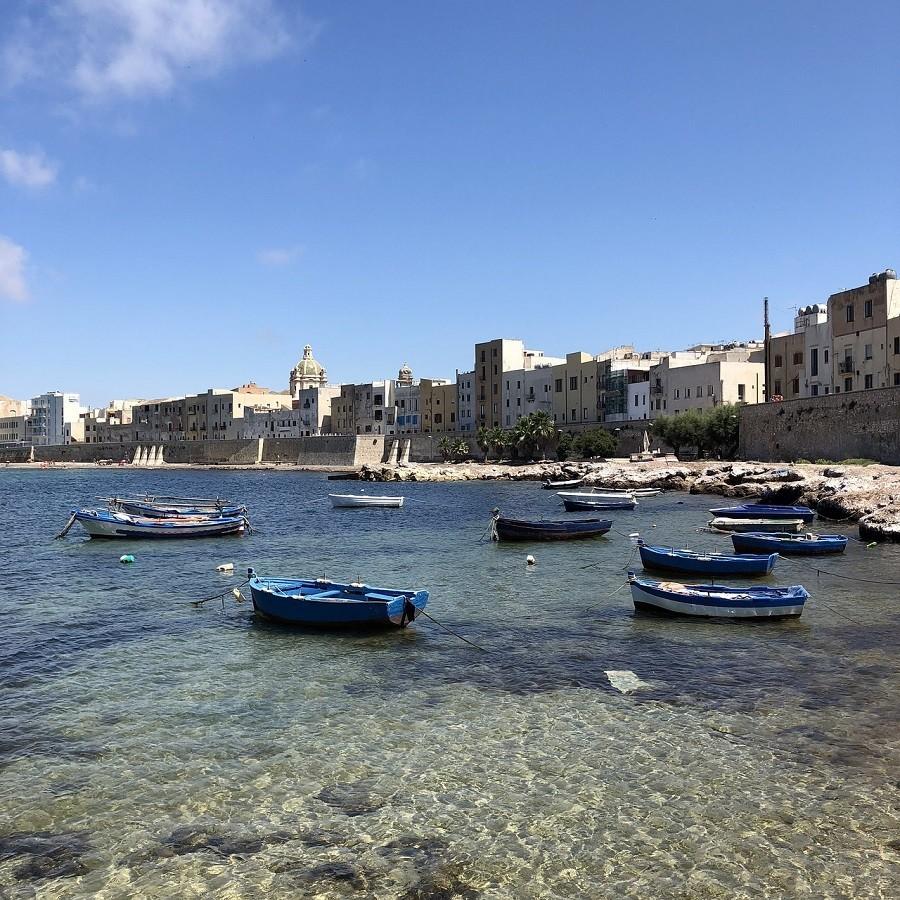Travelnauts rondreis Sicilie italië-trapani-bootjes-zee-kust Rondreis Sicilië 30pluskids image gallery